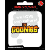 The Goonies Logo Embroidered Iron-On Patch Thumbnail 1