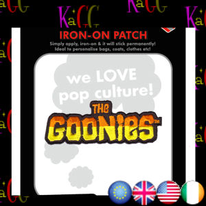 NEW THE GOONIES LOGO PATCH BADGE IRON ON PATCHES BADGES