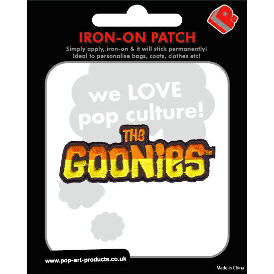 The Goonies Logo Embroidered Iron-On Patch