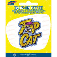 View Item Hanna Barbera Top Cat Embroidered Iron-On Patch