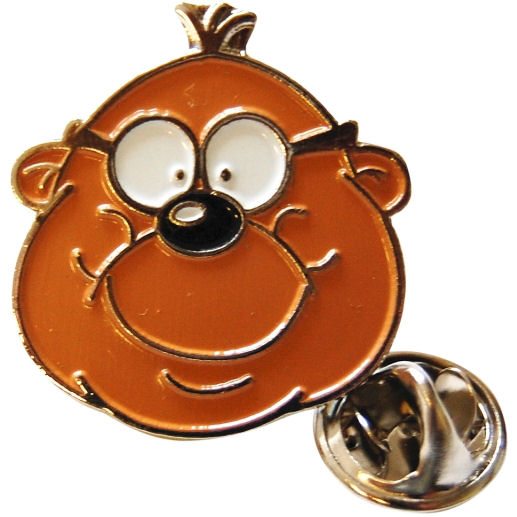 NEW PENFOLD FACE PIN BADGE VINTAGE RETRO METAL ENAMEL LAPEL BROOCH DANGER MOUSE
