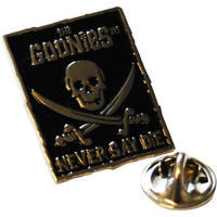 "View Item The Goonies ""Never Say Die"" Pin Badge"