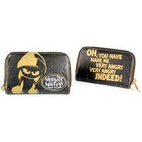 Looney Tunes Marvin The Martian Zipped Purse