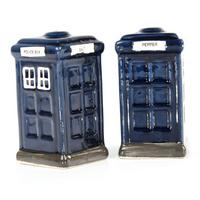 Police Box Ceramic Salt & Pepper Pots Thumbnail 1