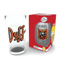 The Simpsons Duff Beer Large Glass