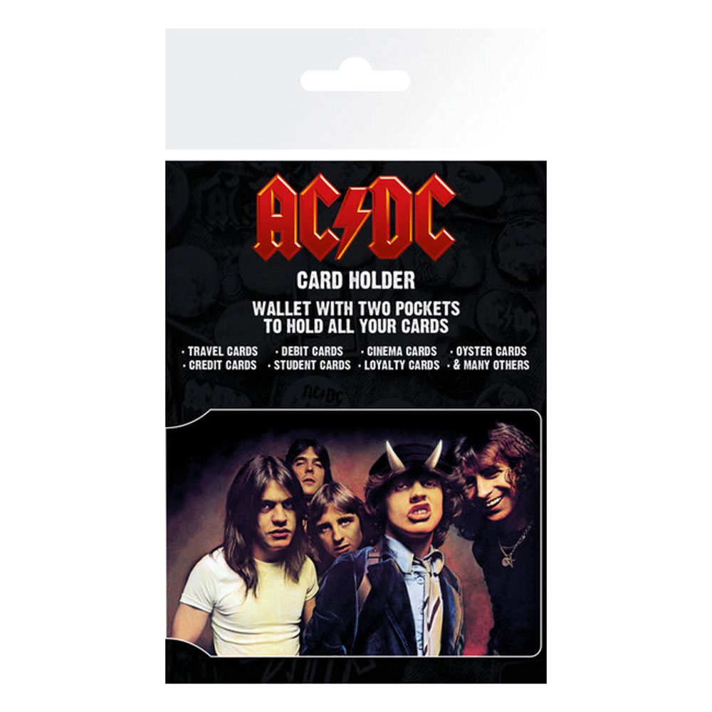 AC/DC Band Photo ID Travel/Oyster Card Holder