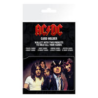 AC/DC Band Photo ID Travel/Oyster Card Holder Thumbnail 1