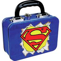 Superman Logo Tin Tote/Lunch Box