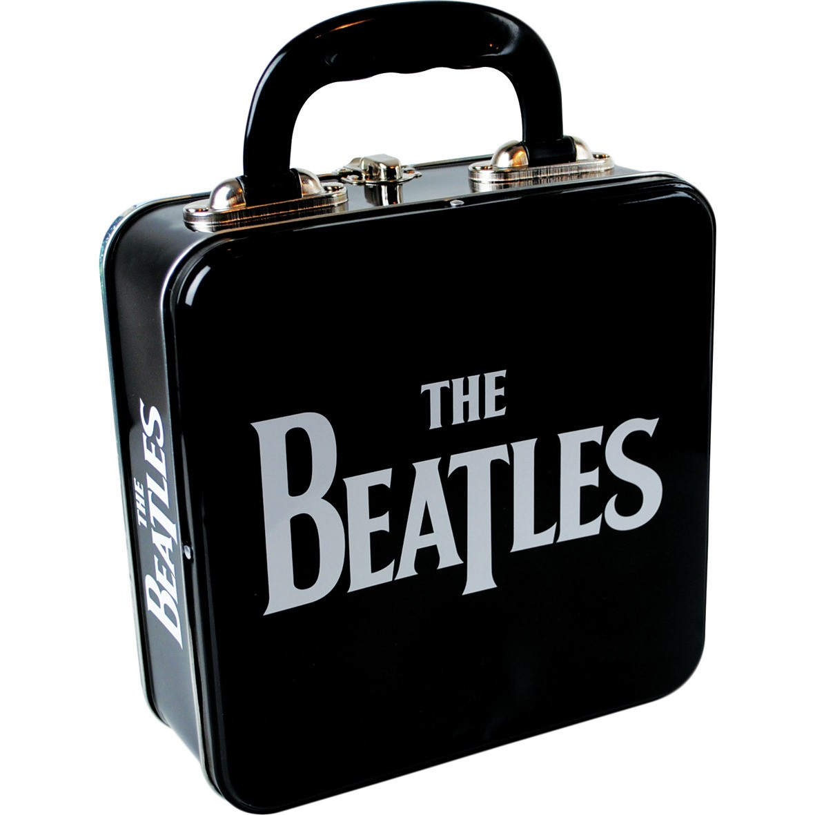 NEW BEATLES ABBEY ROAD TIN TOTE LUNCH BOX 60s 70s LP UK LENNON ALBUM COVER RINGO