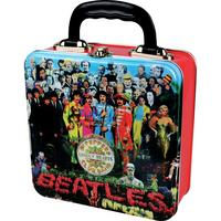 View Item The Beatles Sgt Peppers Lonely Hearts Club Band Tin Tote/Lunch Box