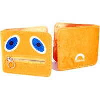 Rainbow Zippy Furry Wallet