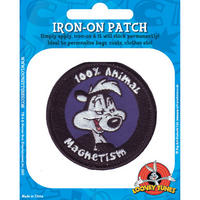 View Item Looney Tunes Pepe Le Pew Embroidered Iron-On Patch