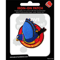 View Item Pigeon Street Logo Embroidered Iron-On Patch