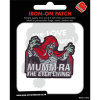 Thundercats MummRa Embroidered Iron-On Patch