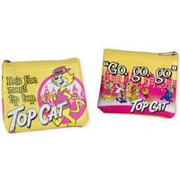 Top Cat Zipped Coin Purse