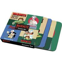 View Item Vintage Marmite Adverts Coaster Set (4 Coasters)