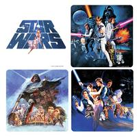 View Item Star Wars Coaster Set (4 Coasters)