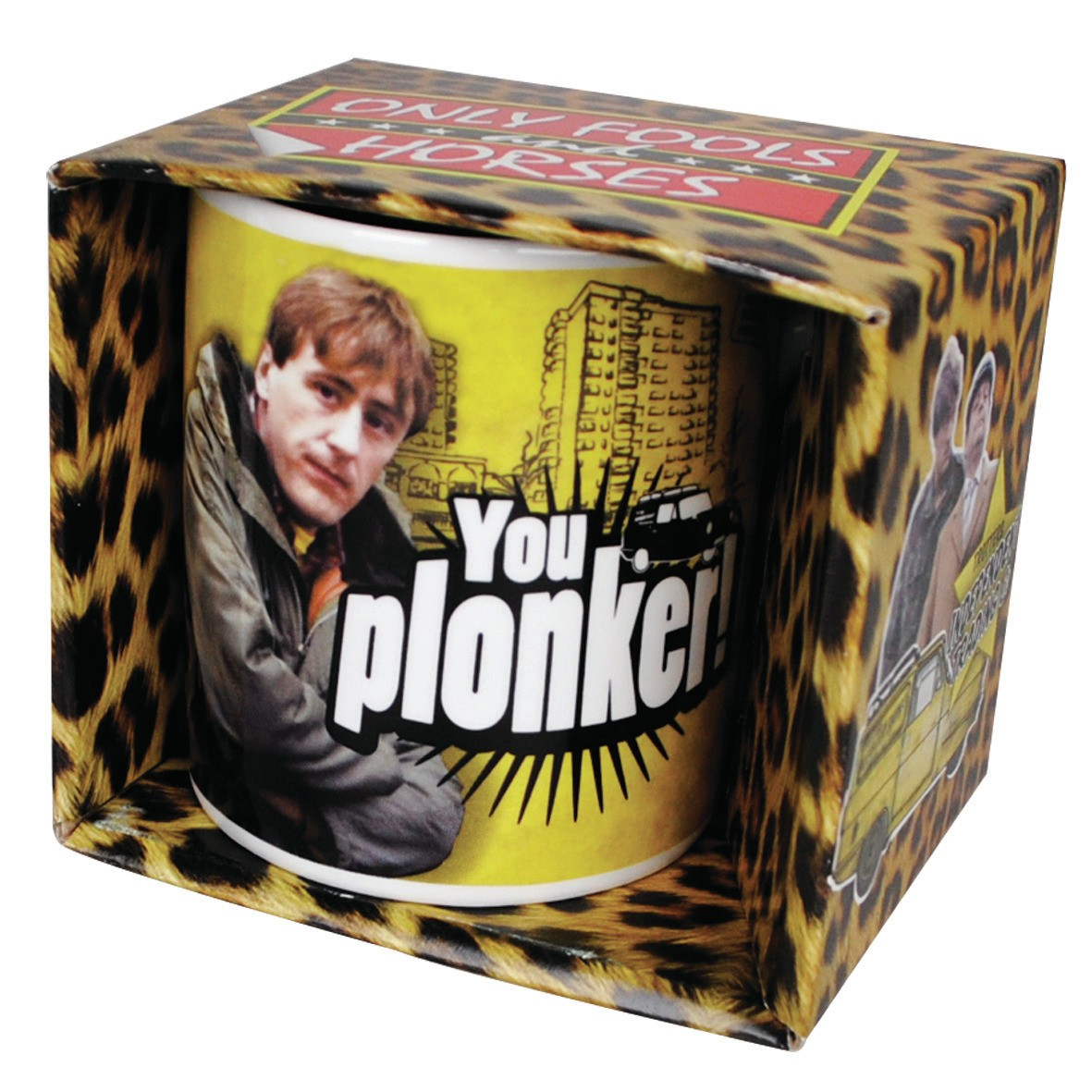 NEW ONLY FOOLS & HORSES YOU PLONKER BOXED MUG RODNEY CERAMIC GIFT CUP TV SERIES