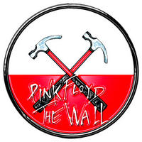 Pink Floyd Hammers Logo Pin Badge