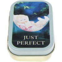 "CWS Baby Food ""Just Perfect"" Keepsake/Pill Tin"