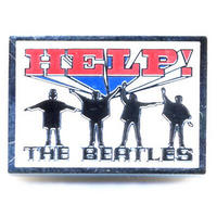 The Beatles Help! Pin Badge Thumbnail 1