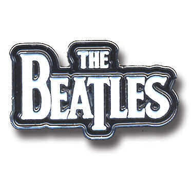 NEW BEATLES DROP T PIN BADGE METAL ENAMEL LAPEL BROOCH LENNON BUTTON LP UK RINGO
