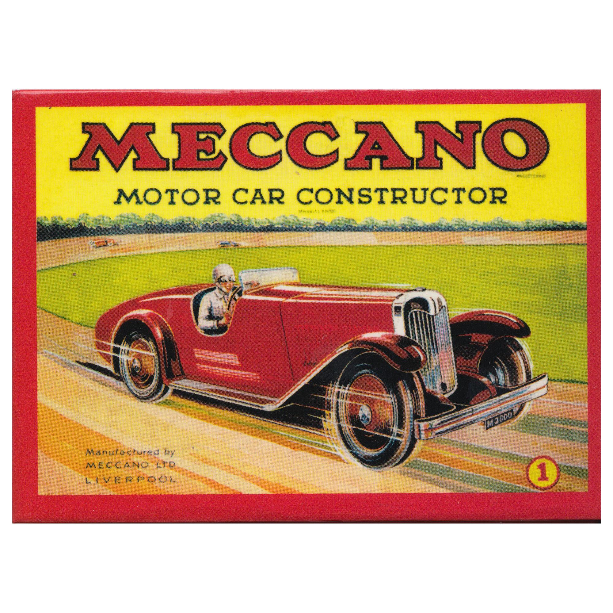 New Meccano Motor Car Fridge Magnet Vintage Retro Opie Kit Memorabilia Racing Ebay