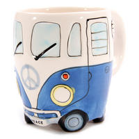 View Item VW Camper Van Shaped Mug (blue)