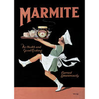 View Item Marmite Chef Steel Sign (small)