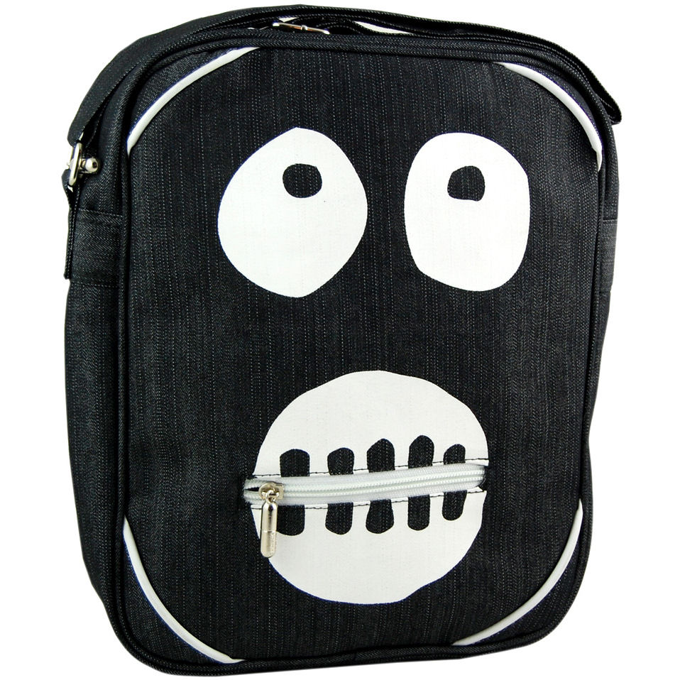 NEW MIGHTY BOOSH MASK FLIGHT BAG VINTAGE BAGS RETRO NABOO CULT TV SHOULDER SPORT