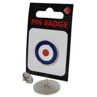 View Item MOD Target Pin Badge