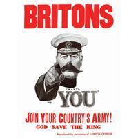 Britons Kitchener Wants You Single Coaster