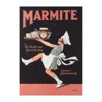 Marmite Chef Postcard