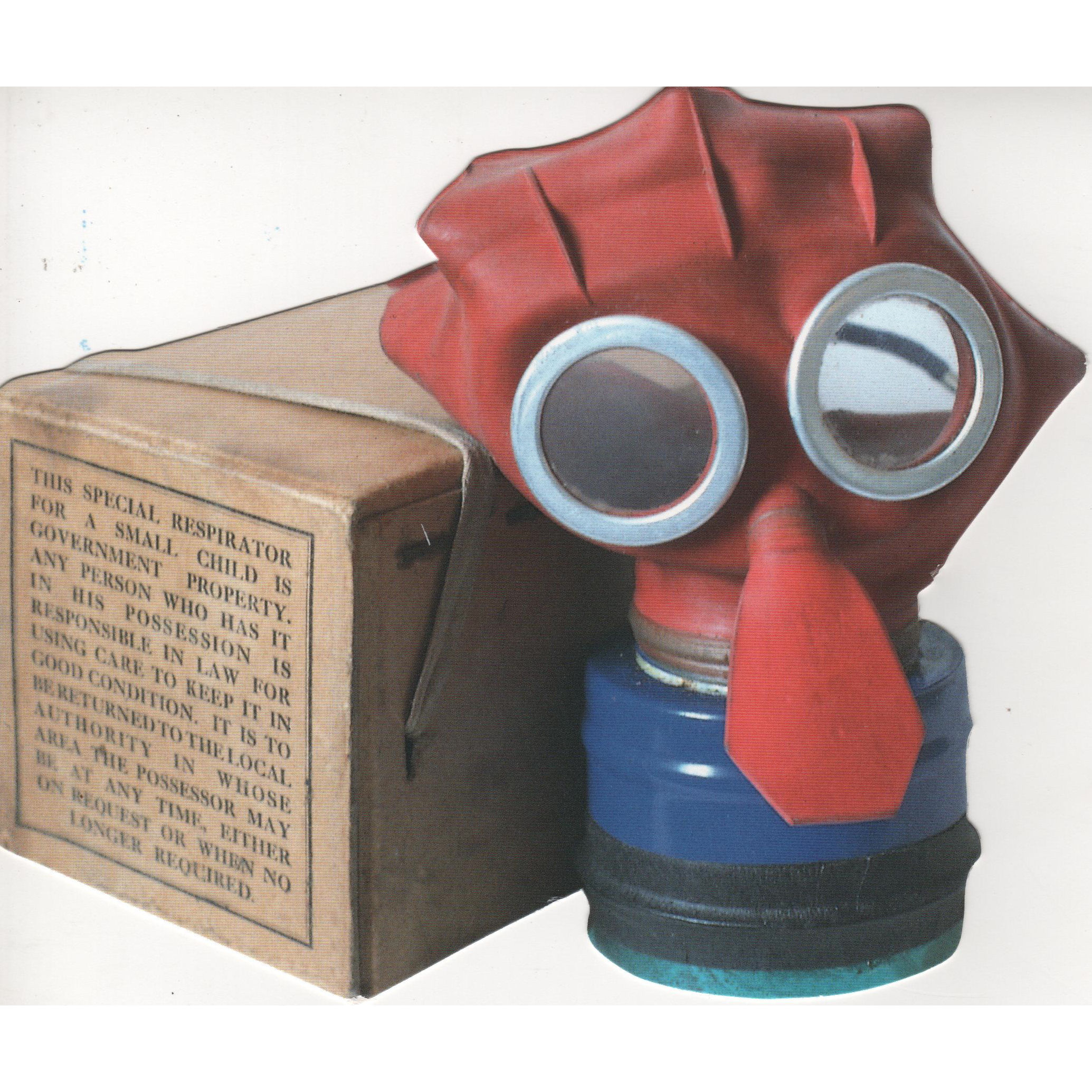 how to make a gas mask for a school project