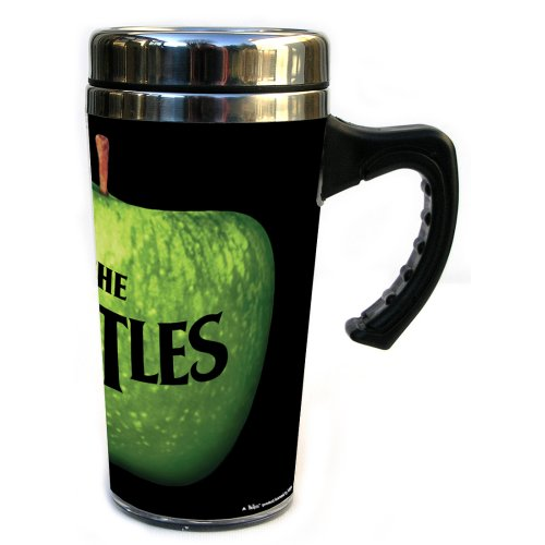 The Beatles Apple Logo Thermal Travel Mug