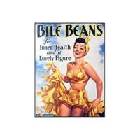 Bile Beans Belle Postcard