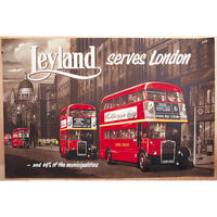 Leyland London Bus Postcard