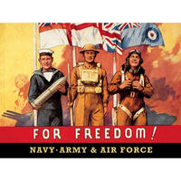 For Freedom! Postcard