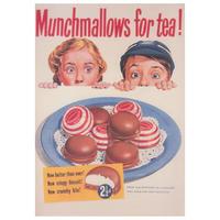 Munchmallows For Tea! Postcard
