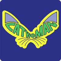 Catwoman Single Coaster