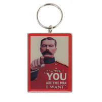 Kitchener You Are The Man I Want Metal Keyring