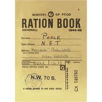Ration Book Postcard