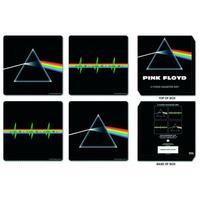 View Item Pink Floyd Dark Side Of The Moon Coaster Set (4 Coasters)