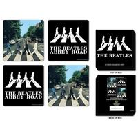 The Beatles Abbey Road Coaster Set (4 Coasters) Thumbnail 1