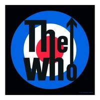 The Who Target MOD Logo Single Coaster