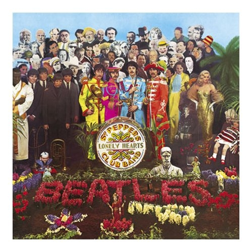 The Beatles Sgt Peppers Lonely hearts Club Band Greeting Card