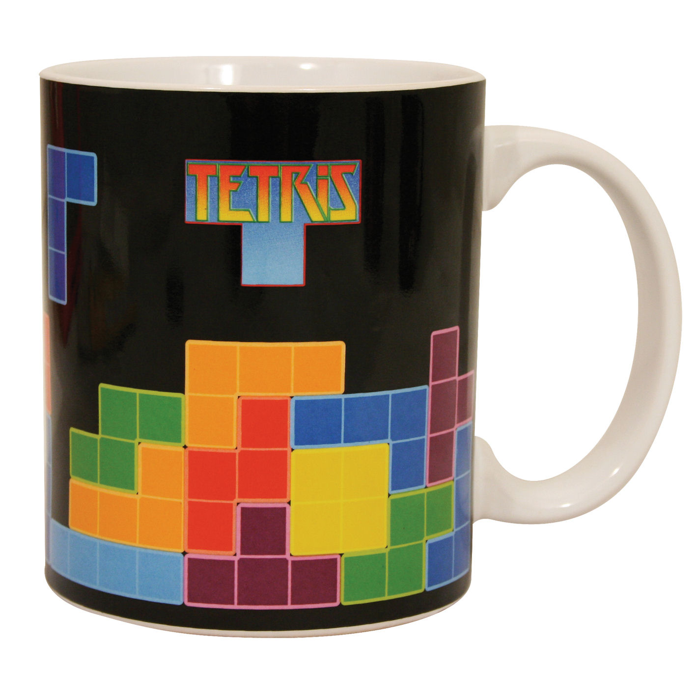 New Tetris Mug Retro Arcade Video Game 80s Coffee Cup