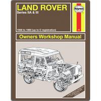 View Item Haynes Land Rover Manual Fleece Blanket