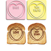 View Item Love Hearts Toast Stamps