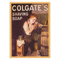 View Item Colgate Shaving Fridge Magnet